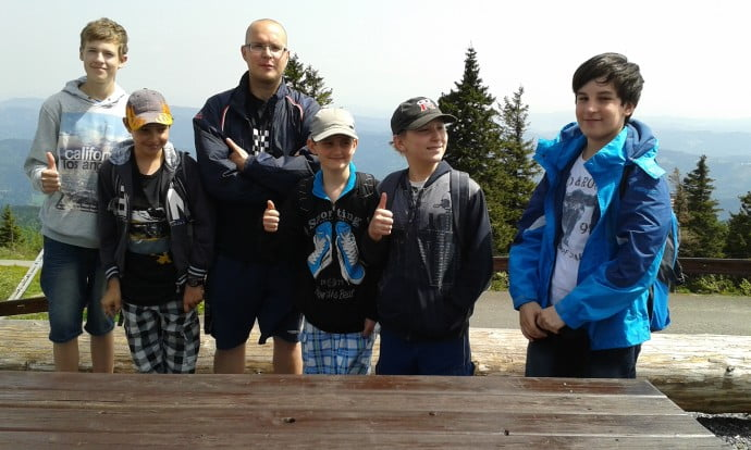 Šachový kroužek na Lysé hoře